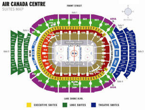 PITTSBURGH PENGUINS VS TORONTO MAPLE LEAFS - 2 OR 4 TICKETS