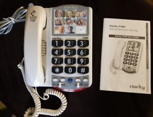 Like New! Perfect Phone For Low Hearing & Vision - Clarity P300