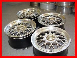 JDM Rays Heritage Mesh wheels rims 18x8 18x9 5x114.3 bbs volk rs