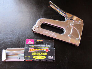 Arrow T18 Wire and Cable Staple Gun