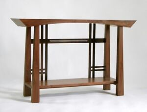exotic console table or wall unit wanted