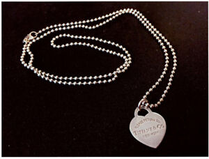 Tiffany Chain Necklace with Charm