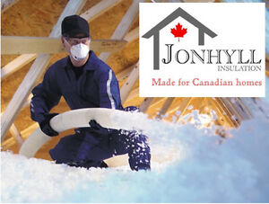 Attic Insulation-Spray Foam Insulation-Fireproofing 10% discount