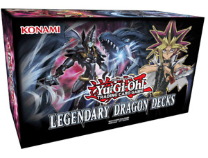 Sealed Yugioh Cyber Dragon Deck and Dimensional Dragons Deck
