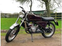 Silk Scott 1974 630cc. Number 22 Of The 21 Said To Have Been Manufacture!
