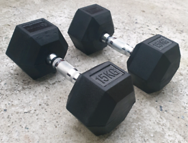 Brand New Quality Hex Dumbells in Many Sizes Available (5kg - 30kg)