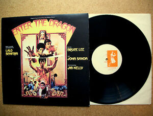 Bruce Lee Enter the Dragon Lp Record