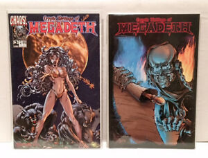 Cryptic Writings of Megadeth TPB and #3 hard to find comic books