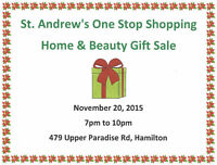St. Andrew's One Stop Shopping Beauty and Gift Sale
