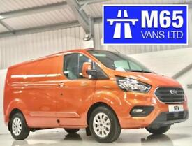 2018 NEW FORD TRANSIT CUSTOM LIMITED 130PS ORANGE L1H1 SWB 2.0TDCI HUGE SPEC