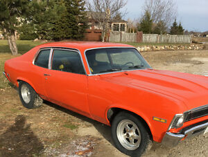 1973 Chevy Nova excellent condition