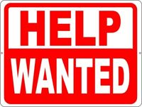Sales Person and Office General Help Wanted!