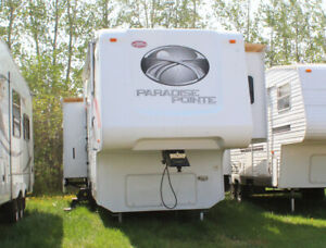 T9867A 2007 Crossroads Paradise Pointe 30CK Fifth Wheel