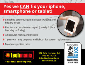 Find out why techmania is the best in cellphone/tablet repairs