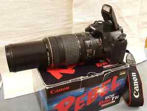 Canon Rebel T1i with Canon ULTRASONIC 70-300mm zoom lens