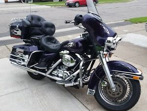 '99 Candy Purple Harley FLHTCI