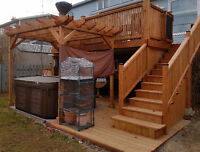 Renos  interior/exterior/ painting/patios and siding.