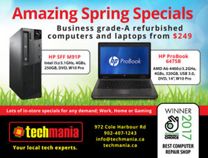 Many models to choose from, PCs from $169, laptops from $249