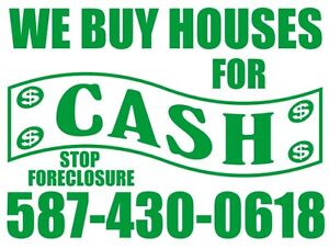 & We help people get out of stressful housing situations.
