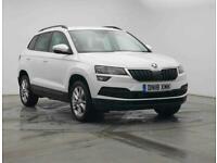 2018 Skoda KAROQ SUV 1.5 TSI (150ps) SE Technology DSG Petrol white Semi Auto