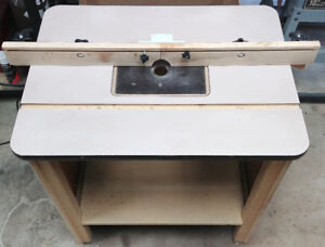 Wooden Router Table