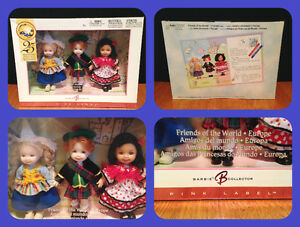 Barbie's (Lil sis) Kelly Friends of the World circa 2004 - MINT London Ontario image 1