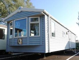 Static Caravan Nr Clacton-on-Sea Essex 3 Bedrooms 8 Berth Swift Burgundy 2014