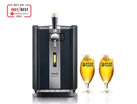 Philips Perfect Draft With 2 X Pint Glasses Bear Hawk