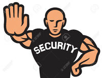 Licensed Security Guard available for all your needs