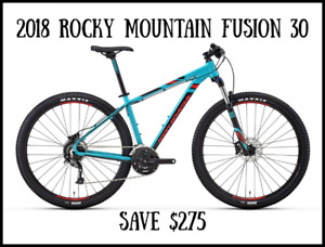 2018 Rocky Mountain Bikes On Sale - Save from $175- $300
