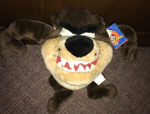 Tazmanian Devil Taz Looney Tunes 10 Inch Plush Stuffed Doll
