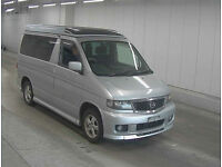 FRESH IMPORT 2001 NEW SHAPE MAZDA BONGO FRIENDEE AERO 2.5 DIESEL AUTO FREE TOP
