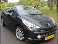 Peugeot 207 CC 1.6 HDi FAP GT 2dr WL08FHK,FULL LEATHER