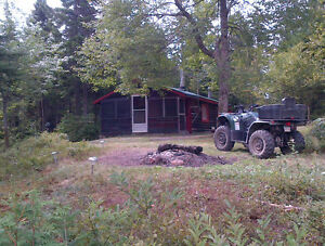 Camp Lease on Lepeau River, Seven Mile Lake Road