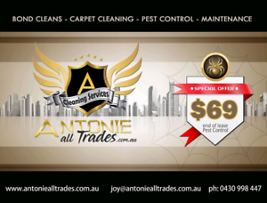 End of lease pest control $69