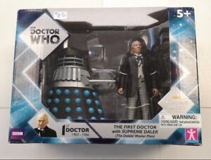 BBC Doctor Who The 1st Doctor with Supreme Dalek