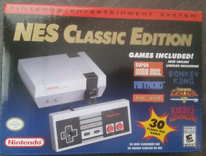 NES Classic with 2 Premium Wireless controllers and 200 games