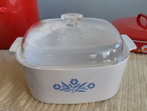 Corning Ware Dutch Oven with Original Pyrex Lid