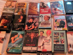41 VHS/VCR films/movies