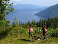 LIVING THE DREAM Over looking  Shuswap Lake, Blind Bay