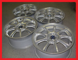 "JDM Gram Lights 57G 18"" 5x100 wheels rims STI Impreza gc8 Rays"