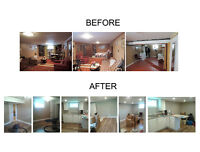 QUALITY RENOVATIONS-GREAT WINTER RATES
