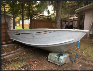 16 FT. LOWE ROUGHNECK BOAT BY OMC