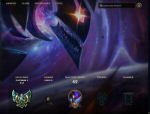 2 League of Legends accounts for sale (ufo corki!!!)