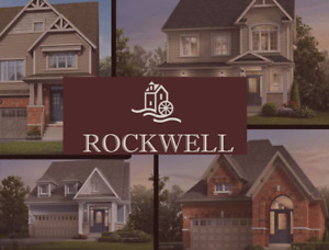 Brand New Detached and Townhomes  available for sale in Rockwood