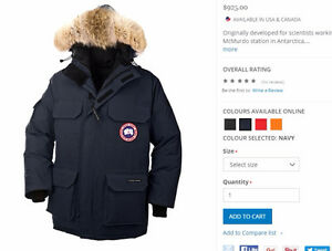 canada goose outlet store in gta