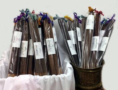 Premium INCENSE STICKS JUMBO 19 inch hand dipped 30 stick bundle long burn time - Jumbo Incense Sticks