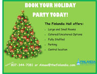 Hall Rental Available for Christmas Parties/Shags, Weddings etc