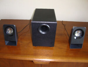 LOGITECH MULTI-MEDIA SPEAKERS WITH SUBWOOFER