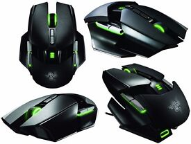 Razer Ouroboros – Wired/Wireless Ambidextrous Gaming Mouse - 8200dpi - New in packaging